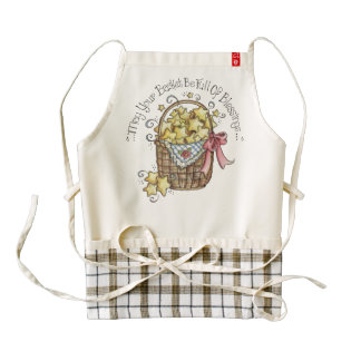 May Your Basket Be Full of Blessings Apron