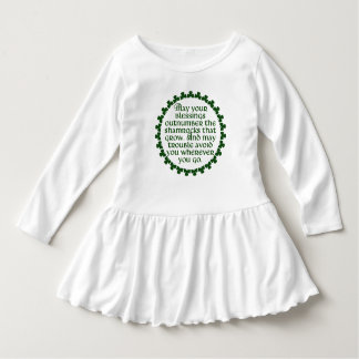May your blessings outnumber the shamrocks, Irish Dress