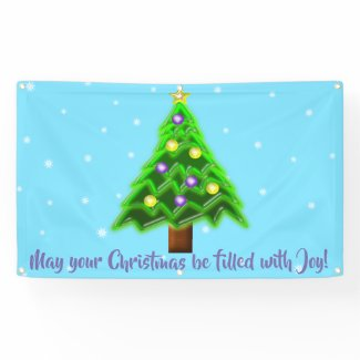 May your Christmas be filled with Joy! Banner