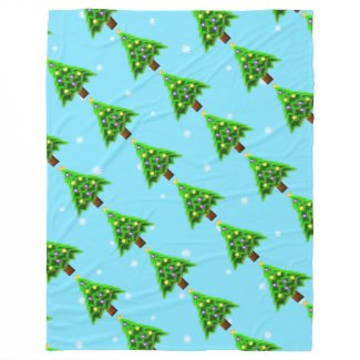 May your Christmas be filled with Joy! Fleece Blanket