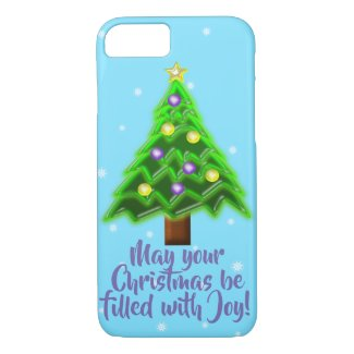 May your Christmas be filled with Joy! iPhone 8/7 Case