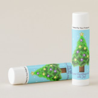 May your Christmas be filled with Joy! Lip Balm