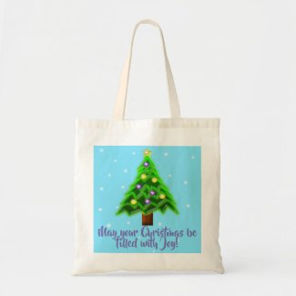 May your Christmas be filled with Joy! Tote Bag