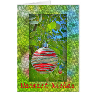 May Your Christmas Be Merry & Bright greeting card