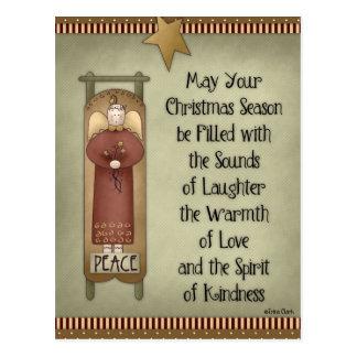 May Your Christmas Season Holiday Postcards