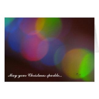 May Your Christmas Sparkle... Christmas Card