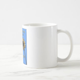 May your days be filled with sunflowers classic white coffee mug