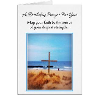 May Your Faith...Religious Birthday Card