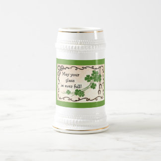 May your glass be ever full! 18 oz beer stein