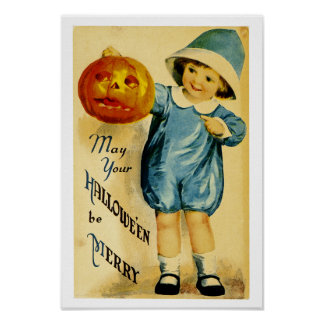 May Your Halloween Be Merry Posters