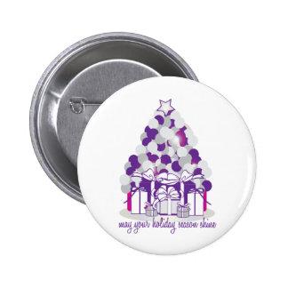 May Your Holiday Season Shine Pins