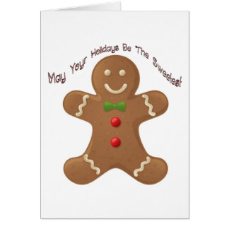 May your holidays be the sweetest card