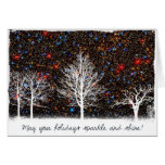 May Your Holidays Sparkle and Shine - Hubble Greeting Card