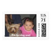 Maya 070706 146, I'm turning one! Postage