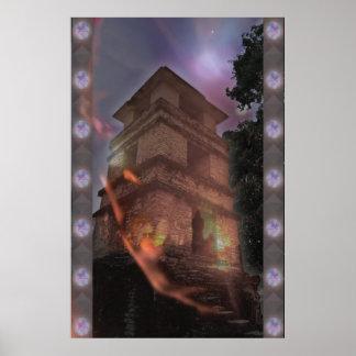 Maya 3D Poster