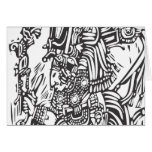 Maya alto tarjetas
