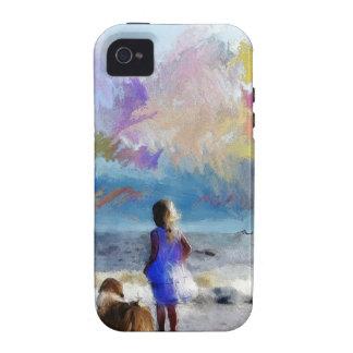 Maya and girl on beach.jpg vibe iPhone 4 case