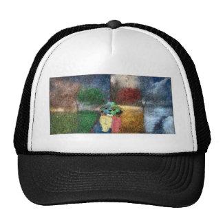 Maya and the seasons trucker hat