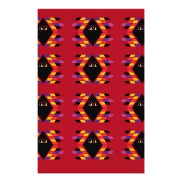 Maya / Aztec handdrawn  Folk Summer vintage patter Stationery