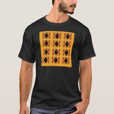 Aztec Themed Maya / Aztec handdrawn  Folk Summer vintage patter T-Shirt