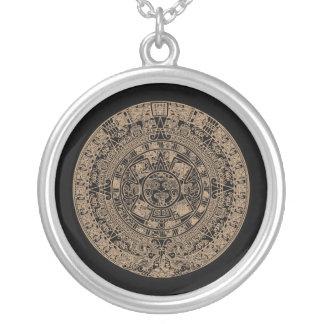 Maya Calendar Necklace