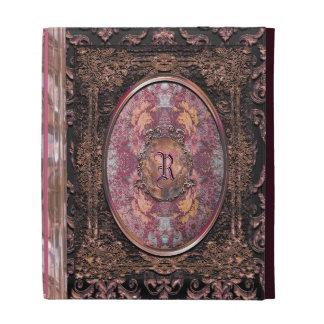 Maya Calliger Vintage Old Book Style iPad Case