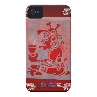 MAYA CHAMAN RED CUSTOMIZABLE PRODUCTS iPhone 4 Case-Mate CASES