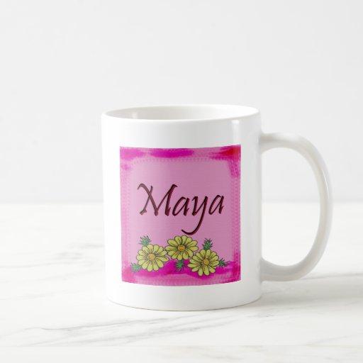 Maya Daisy Mug