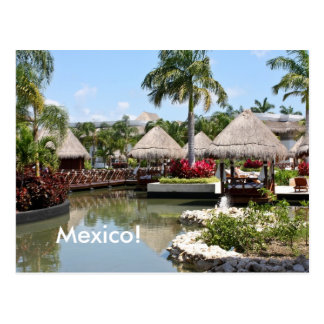 Maya de Riviera México Tarjeta Postal