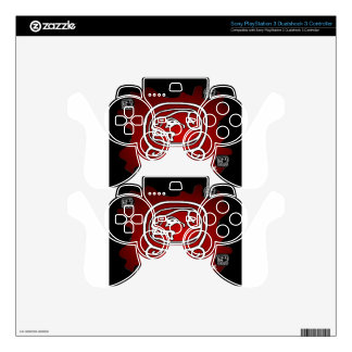 MAYA DOG RED BACKGROUND PRODUCTS DECAL FOR PS3 CONTROLLER