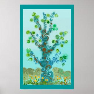 Maya el poster del árbol
