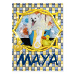 Maya - esquimal americano postal