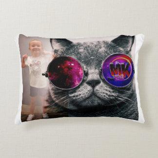 Maya Kostek Kitty Logo Pillow