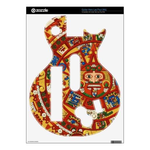 Maya Mayan Aztec Prophetic Symbol Decal For Guitar Hero