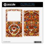 Maya Mayan Aztec Prophetic Symbol Skin For The iPod Video