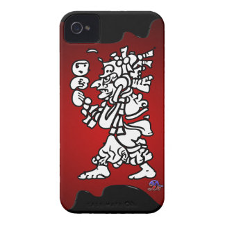 MAYA MISTIC RED BACKGROUND PRODUCTS iPhone 4 COVER