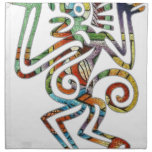 MAYA MONKY PICACOLOR CUSTOMIZABLE PRODUCTS CLOTH NAPKINS
