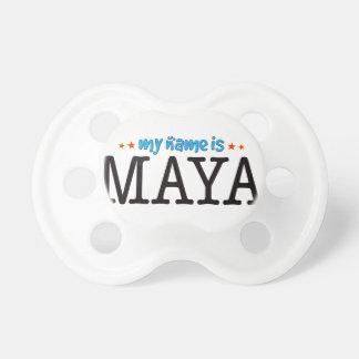 Maya Name BooginHead Pacifier