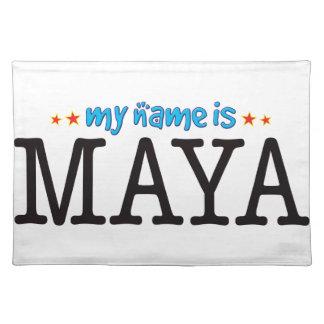 Maya Name Cloth Place Mat