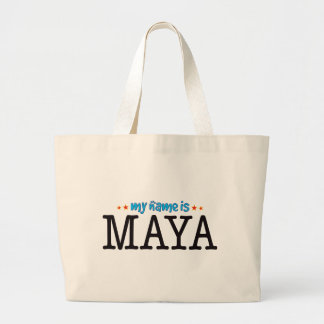 Maya Name Jumbo Tote Bag