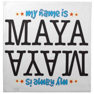 Maya Name Napkins