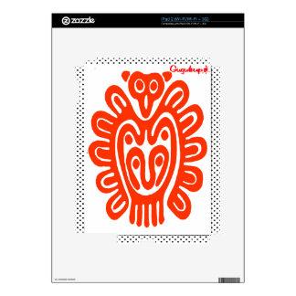 MAYA PANTER SPIRIT 03 CUSTOMIZABLE PRODUCTS DECAL FOR THE iPad 2