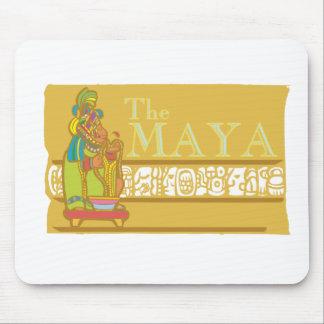Maya Poster 2 Mouse Pad