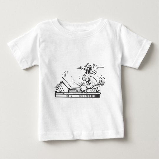 Maya Rabbit Scribe Baby T-Shirt