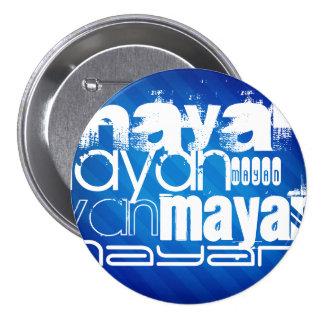 Maya; Rayas azules reales Pins
