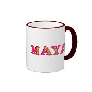 Maya Ringer Coffee Mug