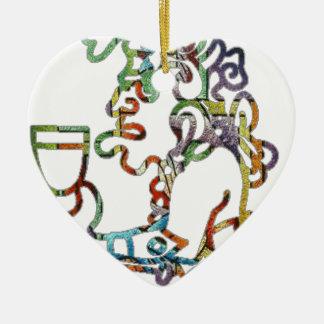 MAYA SACERDOTE PICACOLOR CUSTOMIZABLE PRODUCTS CERAMIC ORNAMENT