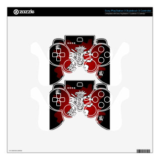 MAYA SHAMAN RED BACKGROUND PRODUCTS SKINS FOR PS3 CONTROLLERS