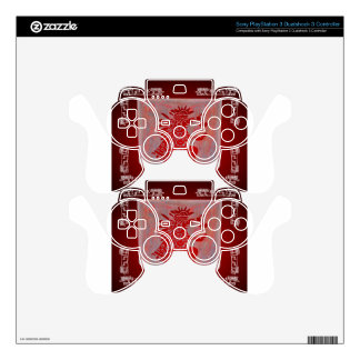 MAYA SHAMAN RED CUSTOMIZABLE PRODUCTS PS3 CONTROLLER DECALS