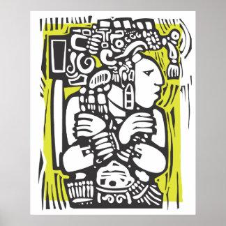 Maya Torso Poster